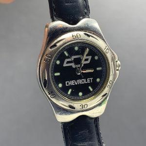 Chevrolet wristwatch GM watch vintage car auto usa